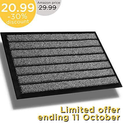 Outdoor Front Door Mats.Extra Durable Doormat Outdoor 30x18 Rubber Outdoor Doormat Absorbent Door Mat Outdoor Front Door Mat Back Door Mat Doormat Indoor Inside