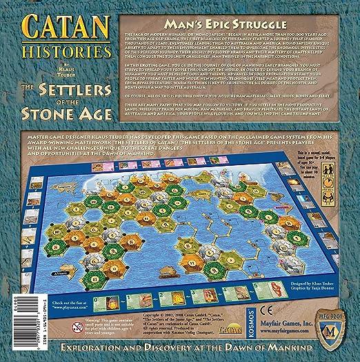 Mayfair - Juego de Tablero, 4 Jugadores (Toys 4098910) [Importado]: Settlers of the Stone Age: Amazon.es: Juguetes y juegos