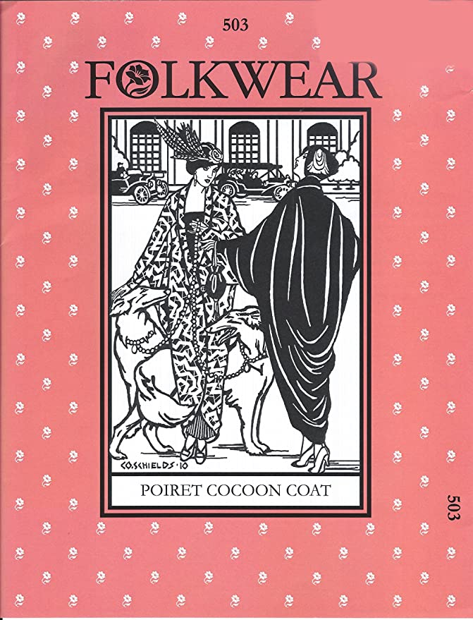 1920s Patterns – Vintage, Reproduction Sewing Patterns Poiret Cocoon Coat Pattern $24.44 AT vintagedancer.com