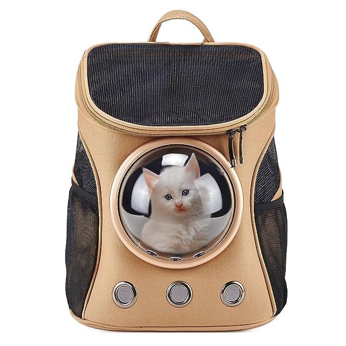 4 opinioni per Tela Capsula Spaziale Portatile Zaino per Cani Gatti Traspirante Trasparente per
