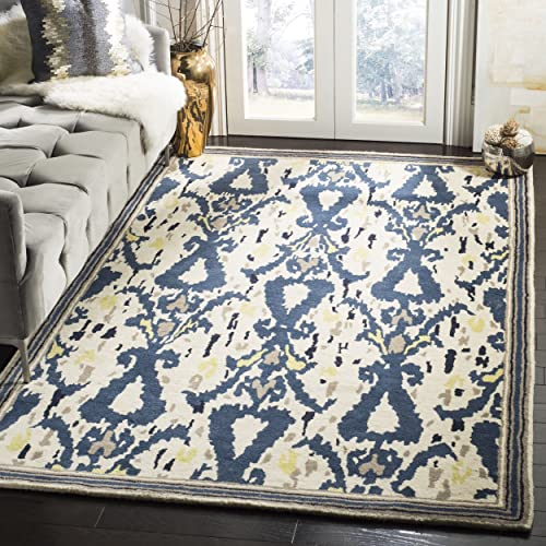 Safavieh Martha Stewart Collection MSR4553B Handmade Premium Wool Clove Area Rug 5 x 8