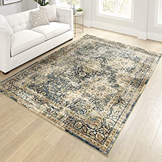 """product image for Orian Meadow Kelly Area Rug, 5'3"""" x 7'6"""", Green"""