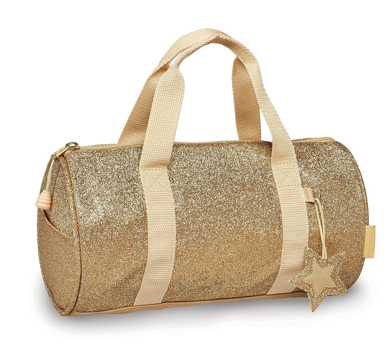 Bixbee Kids Duffel Bag Sparkalicious Glitter Pink School Bag 303011
