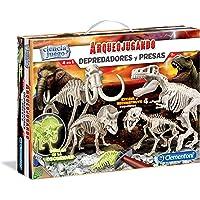 Clementoni- Arqueojugando Depredadores y Presas Kit Científico para Niños, Multicolor (55110)