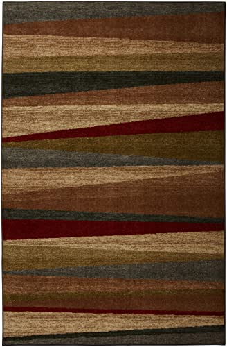 Mohawk Home New Wave Mayan Sunset Striped Printed Area Rug, 5 x8 , Multicolor