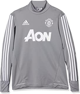 245869f69 Manchester United Training Top Blue Red Junior - - 15 Years  Amazon ...
