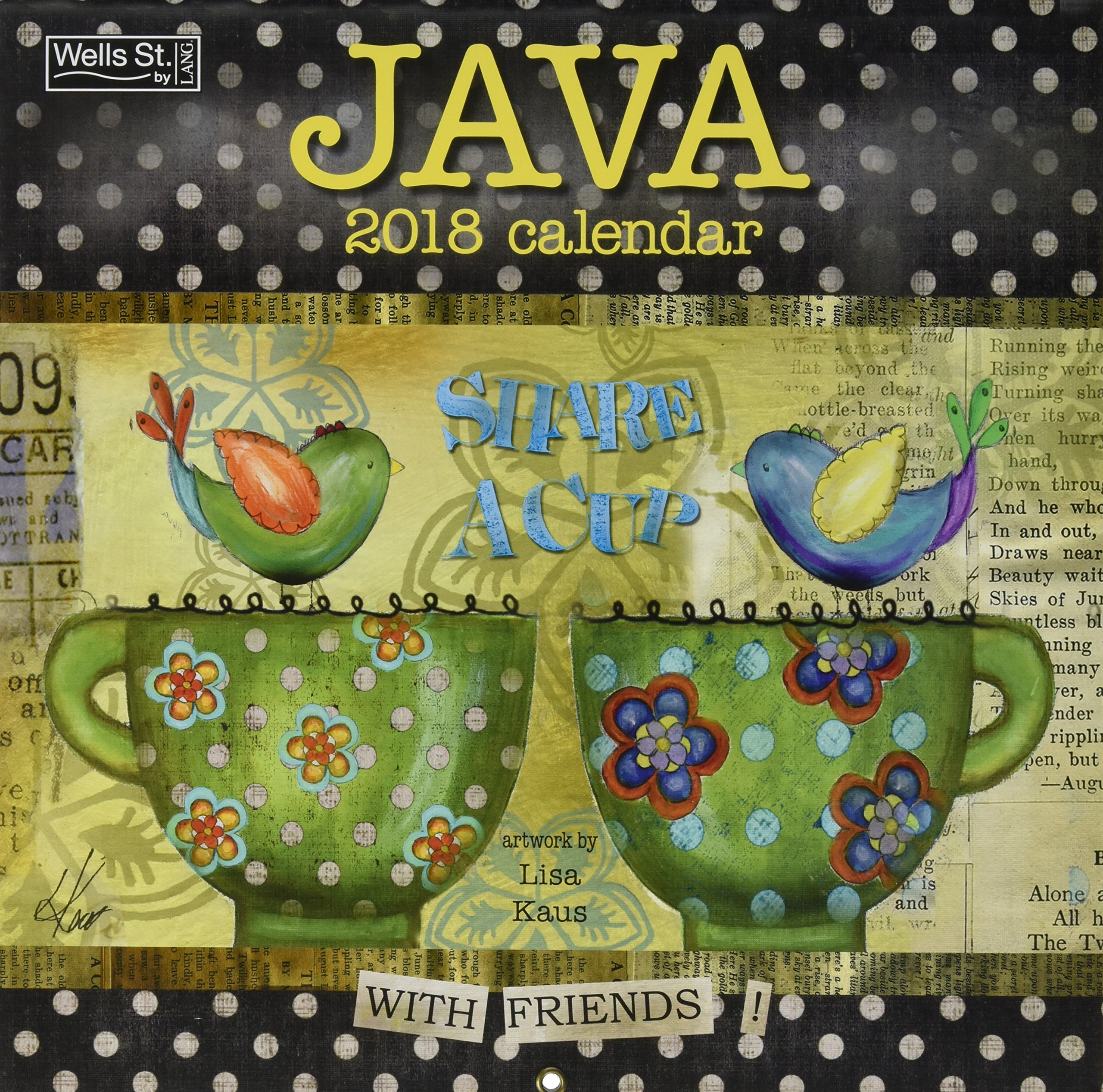 Java 2018 Calendar: Lisa Kaus: 9780741261564: Amazon com: Books