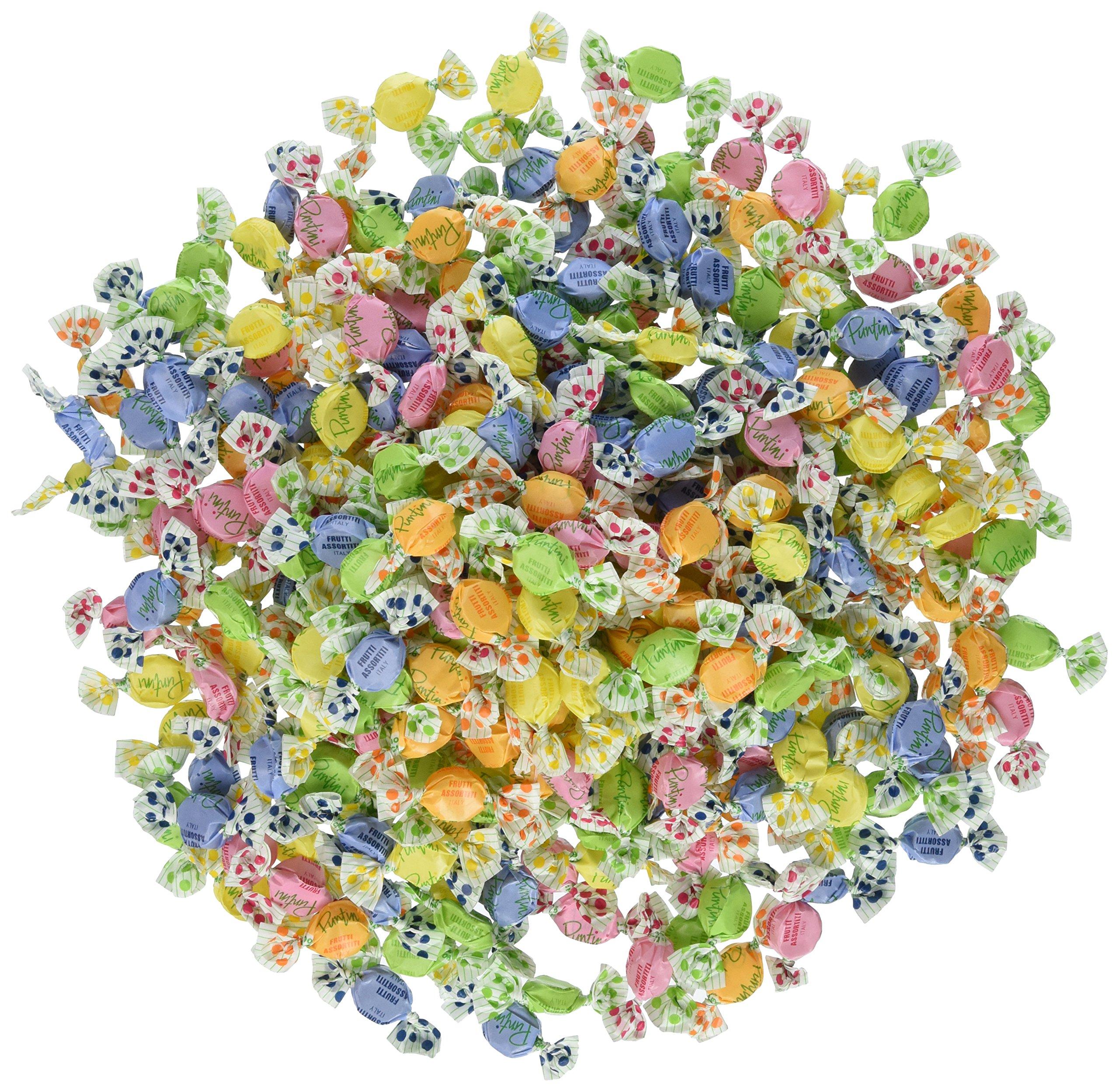 Chipurnoi Chips Puntini Fruit Candy 1300ct Bag (3 Lb 6.5 Oz)