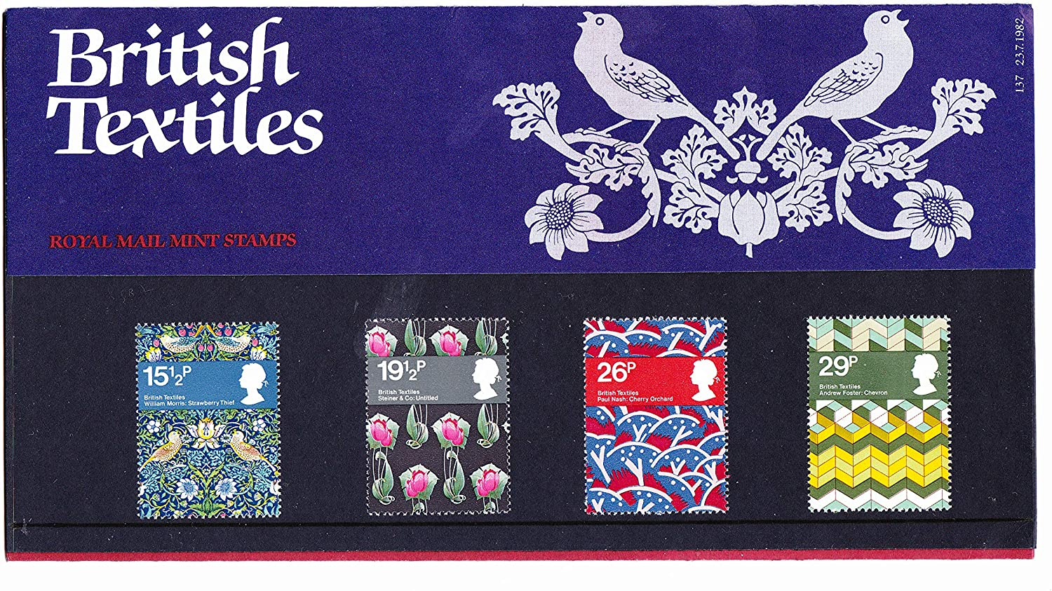 Europa Presentation Pack PP147 printed no. 171 Royal Mail Stamps by Royal Mail 1986 Nature Conservation