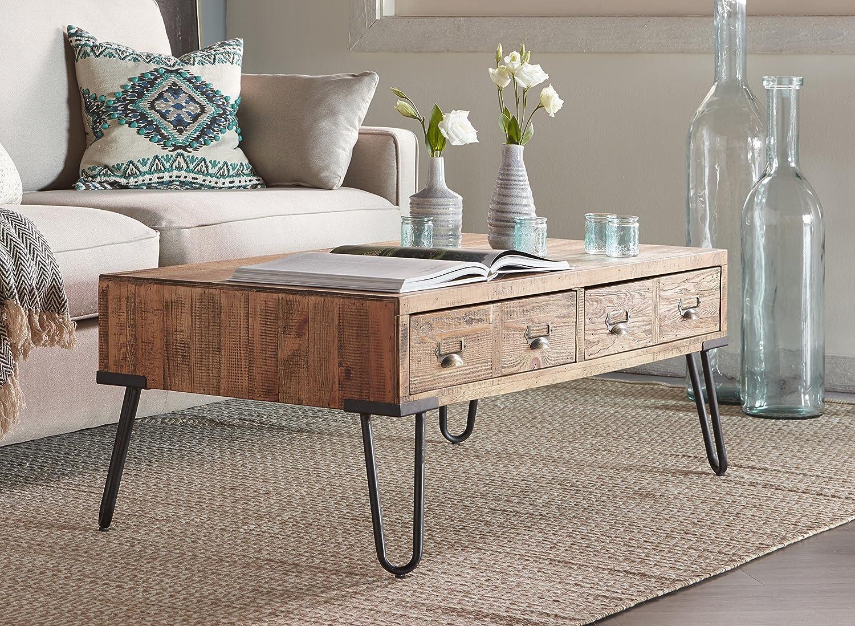 - Amazon.com: Serta Bryant Coffee Table Rustic Modern Farmhouse