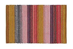 Home Basics hm5a Tappeto per el Hogar, Cotone, Multicolore, 60x 90cm