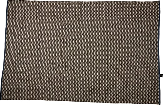 Alfombra de Yute y co. Alfombra Bonita, Color, 100% algodón, Azul ...