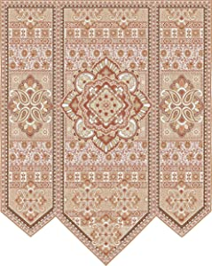 Fine Art Tapestries Masala Clove Hand Finished European Style Jacquard Woven Wall Tapestry USA Size 67x53