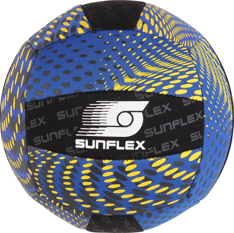 Sunflex Beachball Fisch Größe 5 Neopren FunballStrand SpielballBall