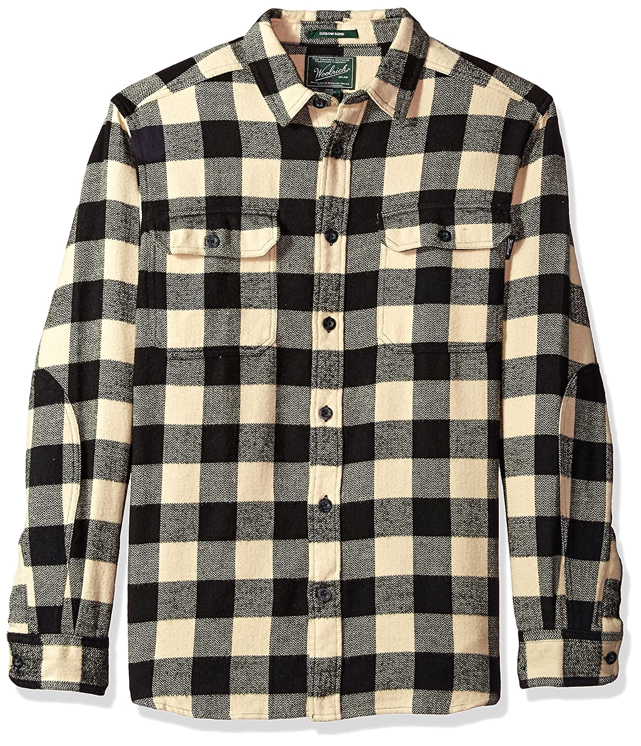 Woolrich Mens Oxbow Bend Flannel Shirt