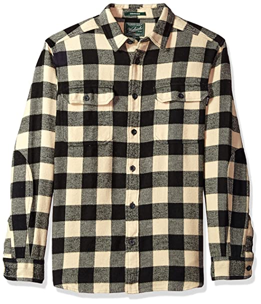 f613021c1 Woolrich Men's Oxbow Bend Flannel Shirt: Amazon.ca: Clothing ...