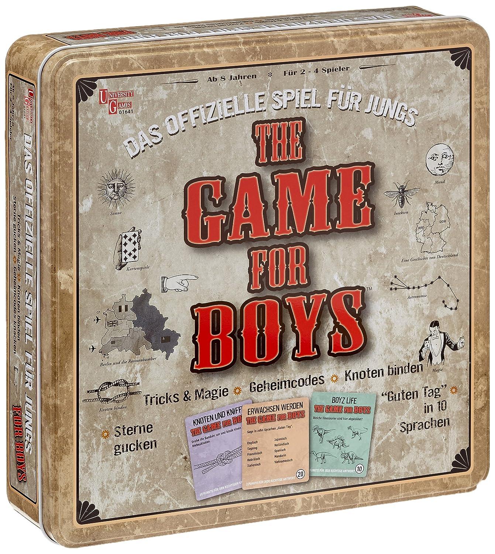 University Games 1641 - The Game for Boys (versión en alemán)