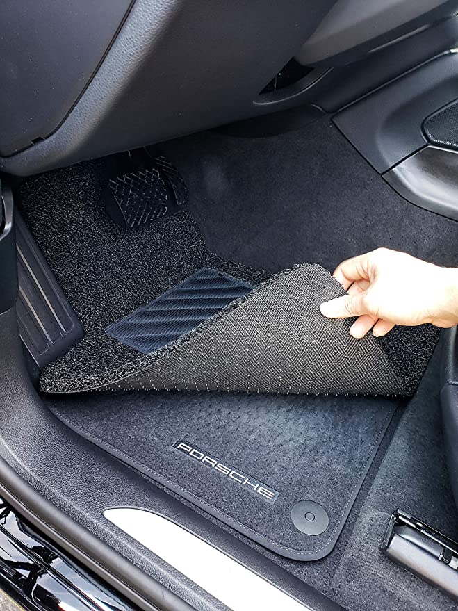 Autotech Zone Custom Fit Heavy Duty Custom Fit Car Floor Mat for 2016-2018 Mercedes GLE SUV Black All Weather Protector 4 Piece Set