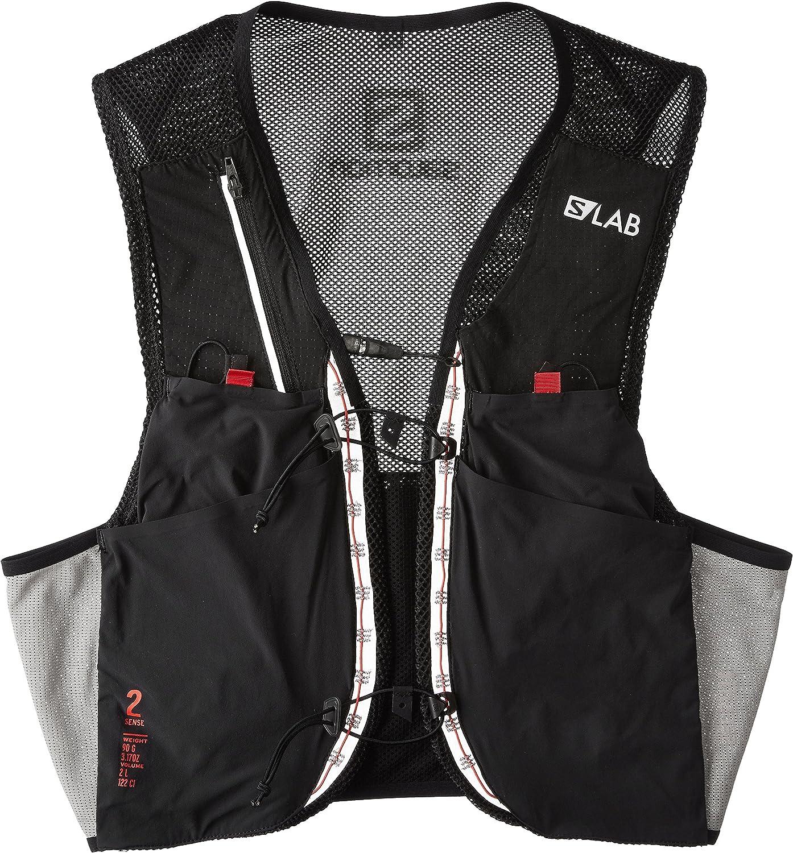 [サロモン] リュックサック S/LAB SENSE 2 SET Sサイズ 黒/Racing 赤