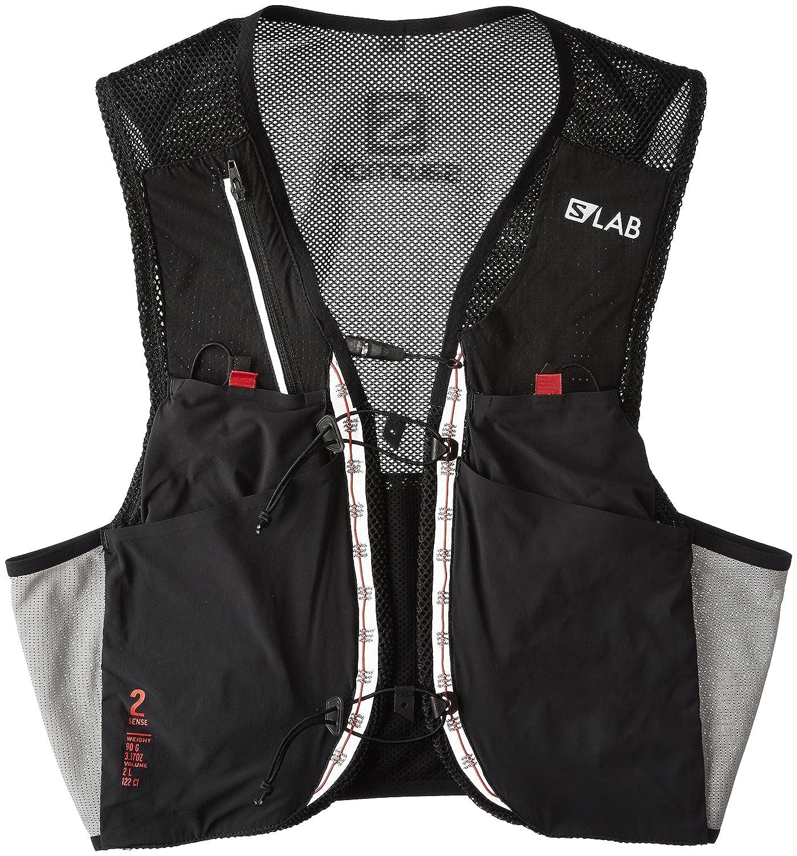 [サロモン] リュックサック S/LAB SENSE 2 SET XSサイズ L39381800-XSサイズ  Black/Racing Red B01HNTLHWA