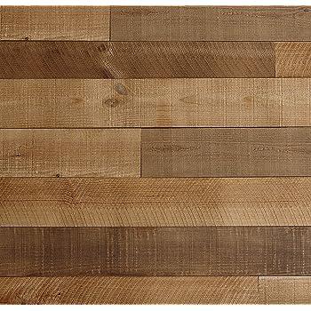 Amazon Com Peel And Stick Wood Wall Planks 100 Real