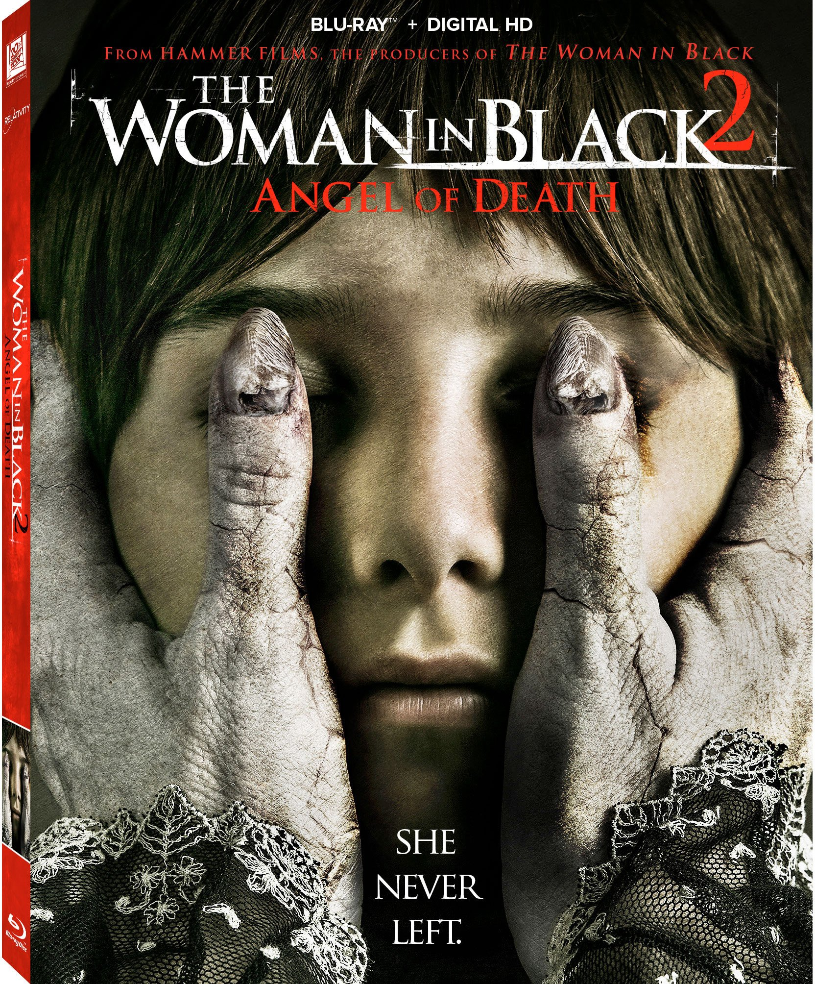 Blu-ray : The Woman in Black 2: Angel of Death (Digital Theater System, Widescreen, Digitally Mastered in HD, )