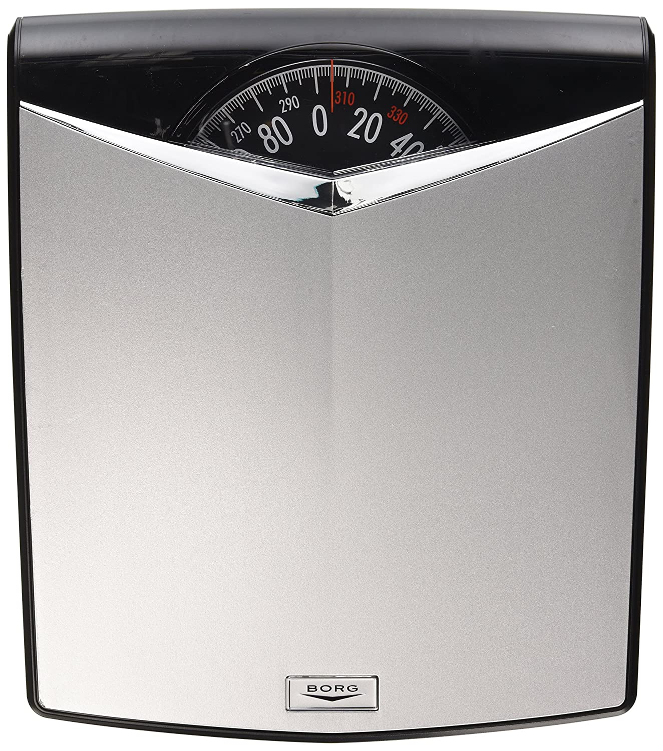 Borg bathroom scale - Amazon Com Borg High Accuracy Modern Dial Scale Silver Health Personal Care