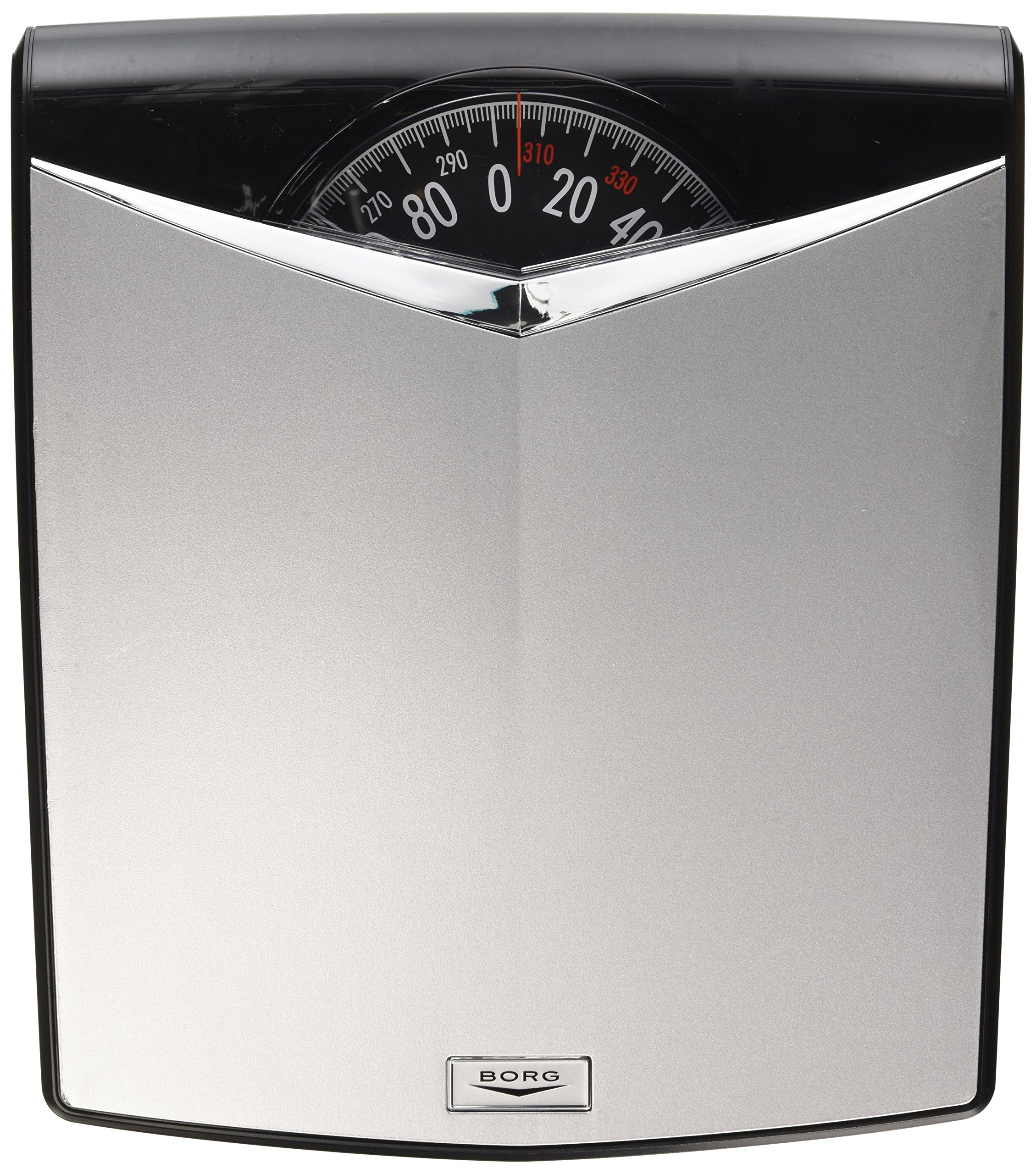 Borg High-Accuracy Modern Dial Scale, Silver