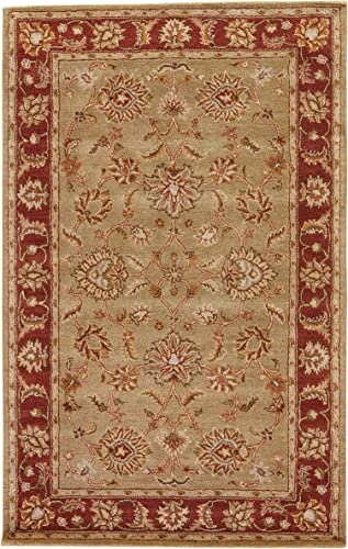 Jaipur Living Anthea Hand-Tufted Oriental Green Area Rug 4 X 4