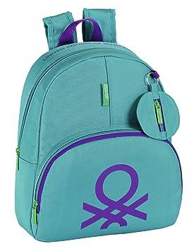 Benetton - Mochila infantil, color turquesa (Safta 611353609): Amazon.es: Equipaje