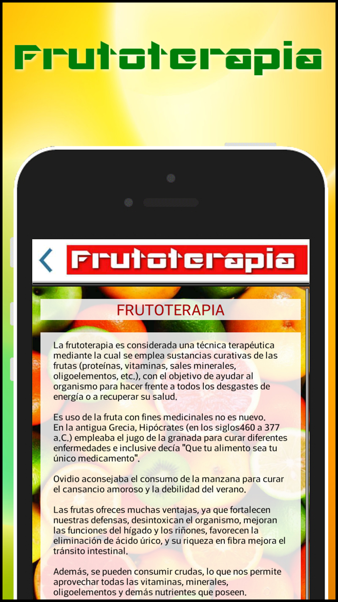 Amazon.com: Frutoterapia: Appstore for Android
