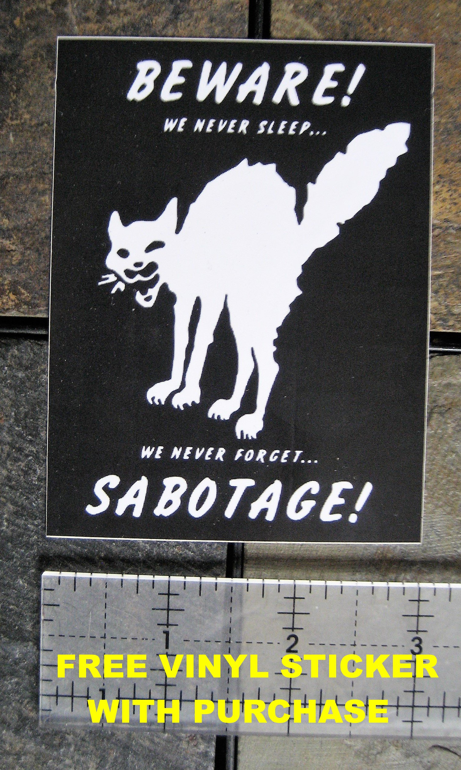 Corporate Slave Back Patch by Chat Noir