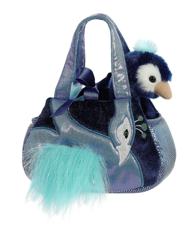 Multicolor Aurora World Fancy Pals Luxe Boutique Purse Pet Carrier Plush Toy