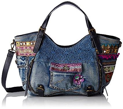 wie man kauft Verkauf Einzelhändler offizielle Seite Desigual Tasche Rotterdam Exotic Jeans
