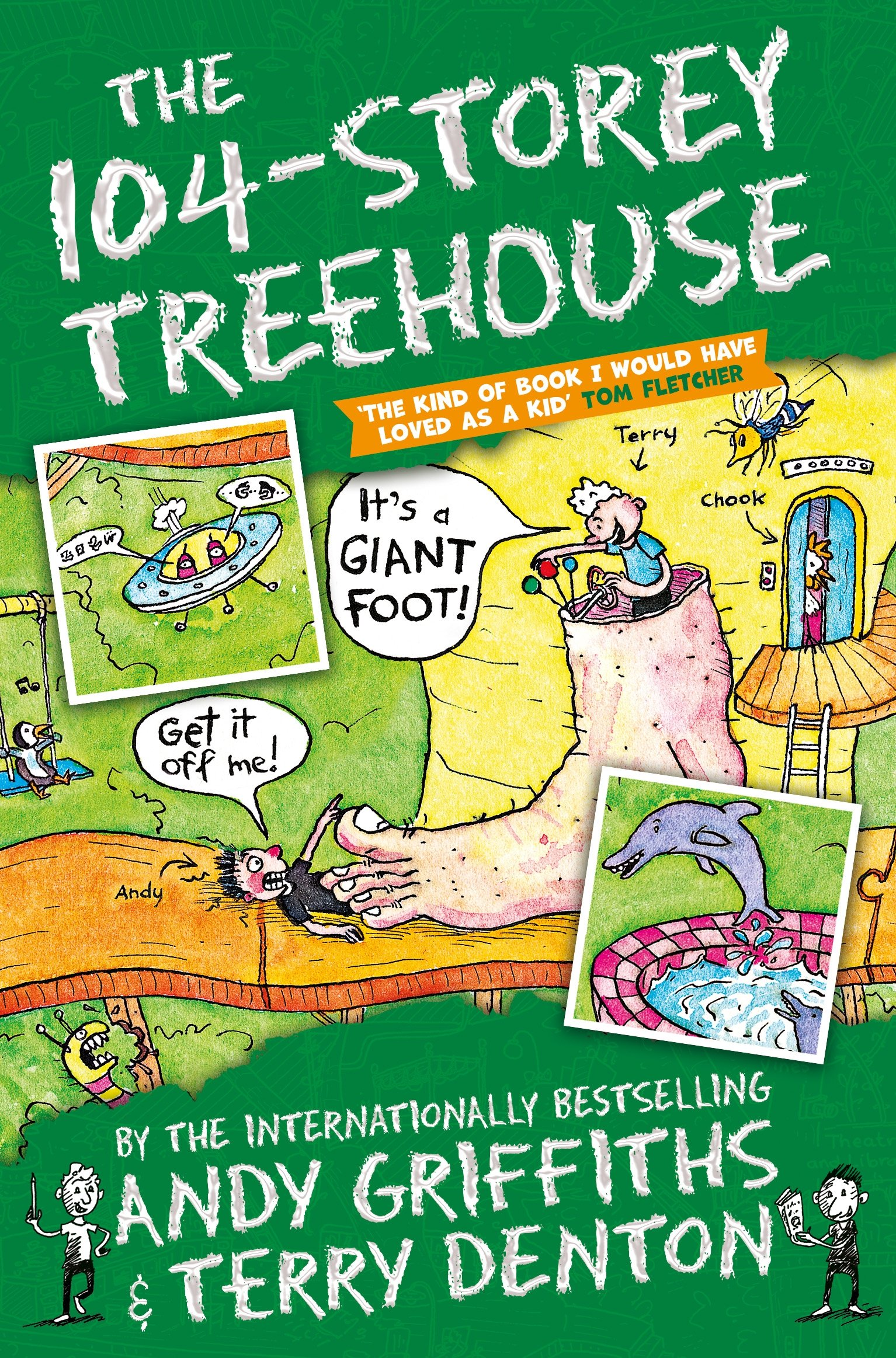 The 104-Storey Treehouse (Inglese) Copertina flessibile – 23 ago 2018 Andy Griffiths Terry Denton Pan Macmillan 1509833773