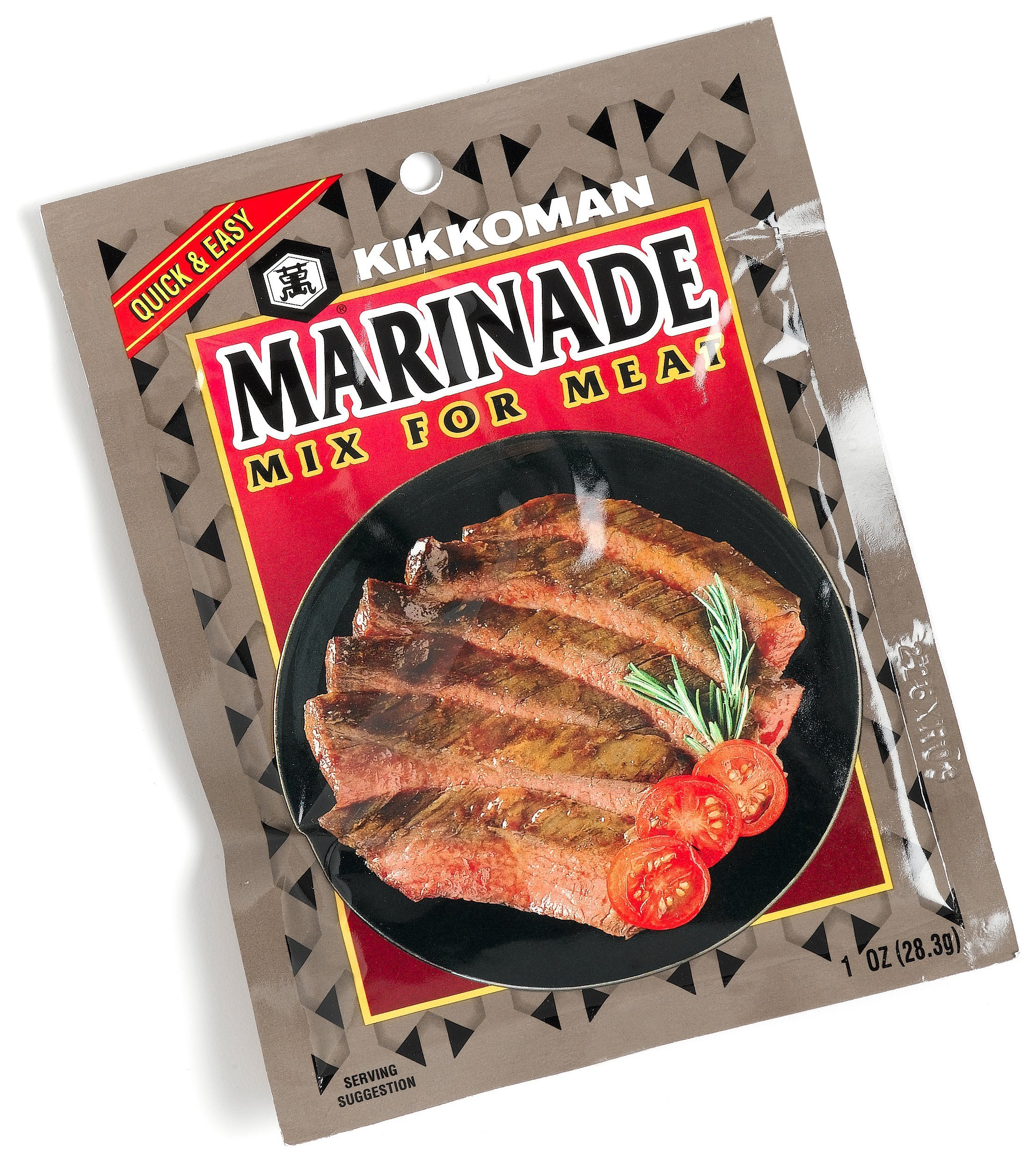 Kikkoman Marinade Mix for Meat, 1-Ounce Packages (Pack of 24)