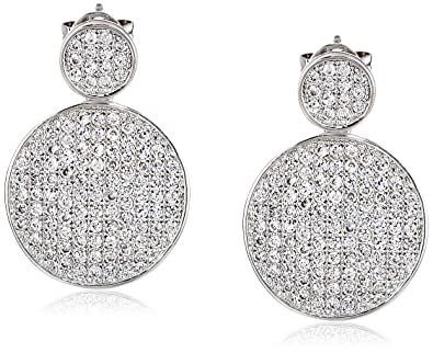 Lisa Freede Greta Earring in Metallic Silver oJstPs