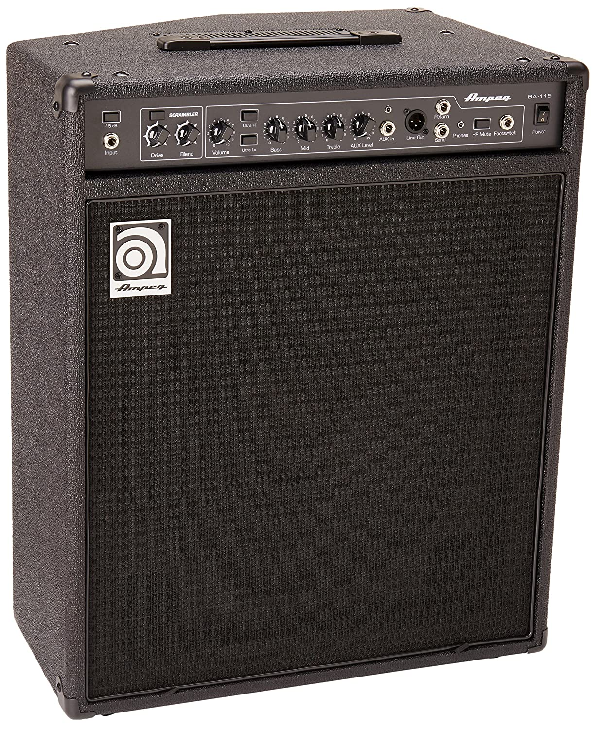 Ampeg BA115v2 1 x 15-Inch Combo Bass Amplifier Reviews 1