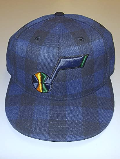 Image Unavailable. Image not available for. Color  Utah Jazz 210 Fitted  Flex Adidas Hat ... cbef38712