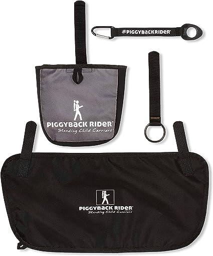 Piggyback Rider Accessory Pack #1 Side Pocket Mud Flap Water Bottle Holder Selfie Stick Holder