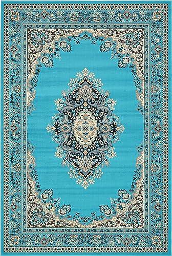 Unique Loom Mashad Area Rug