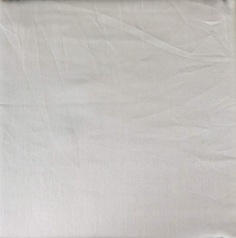 Max Studio Solid Light Gray Sheet Set Extra Deep Pockets 300 Thread Count 100% Cotton Luxury (Queen)
