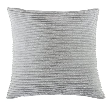 decorative pin pillow grey luxury gray cover velvet pearl pillows