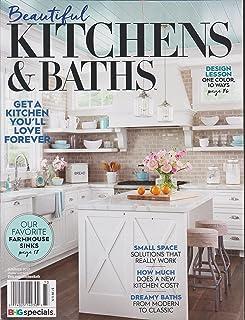 better homes and gardens beautiful kitchens baths magazine summer rh amazon com kitchen and bath magazine free kitchen and bath magazines kitchen photos