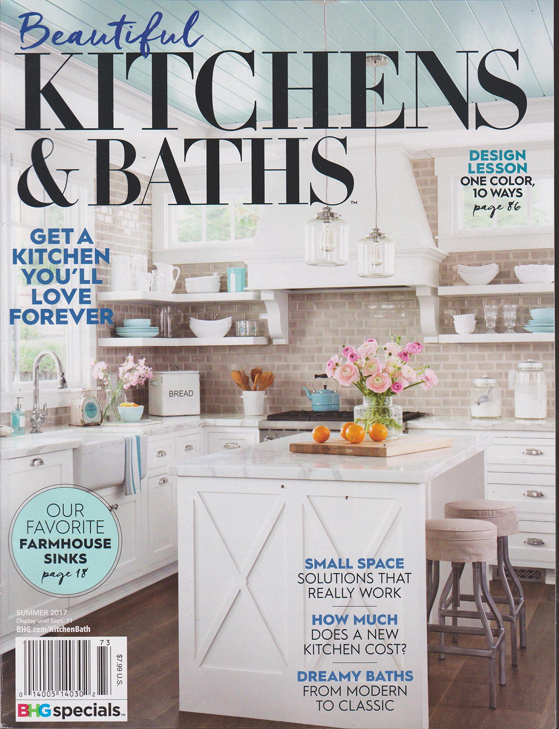 Beautiful Kitchens U0026 Baths Magazine Summer 2017: Various: Amazon.com: Books