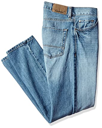 6b35d429715 Amazon.com: Nautica Men's Big and Tall Relaxed Hatch Jean, Hokline ...