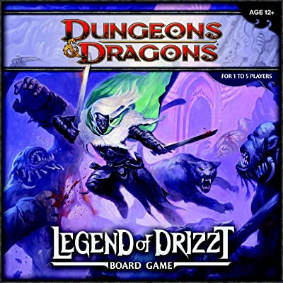Dungeons & Dragons: The Legend of Drizzt Board Game: Wizards RPG Team: Toys & Games