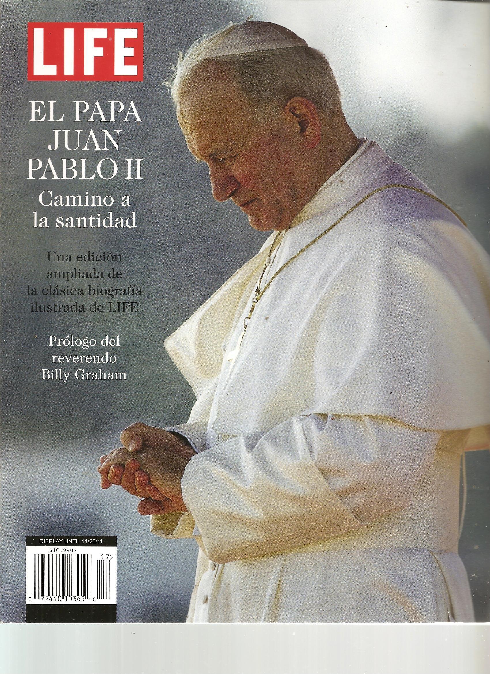 Download Life El Papa Juan Pablo II Magazine (Camino a la Santidad, 2011) pdf