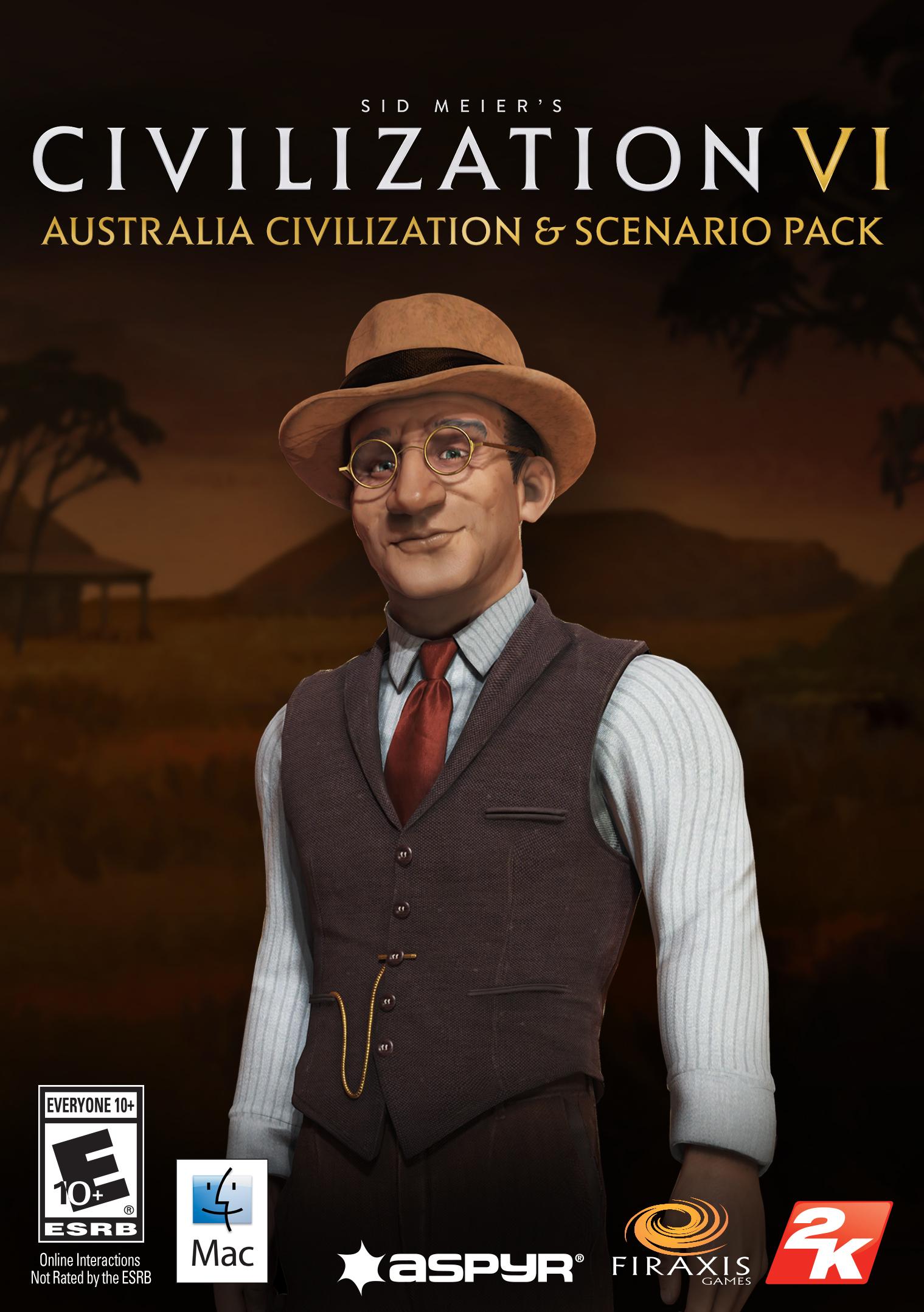 Sid Meier's Civilization VI - Australia Civilization & Scenario Pack (Mac) [Online Game - Australia Online