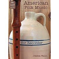 American Folk Music for Recorder Book/audio files